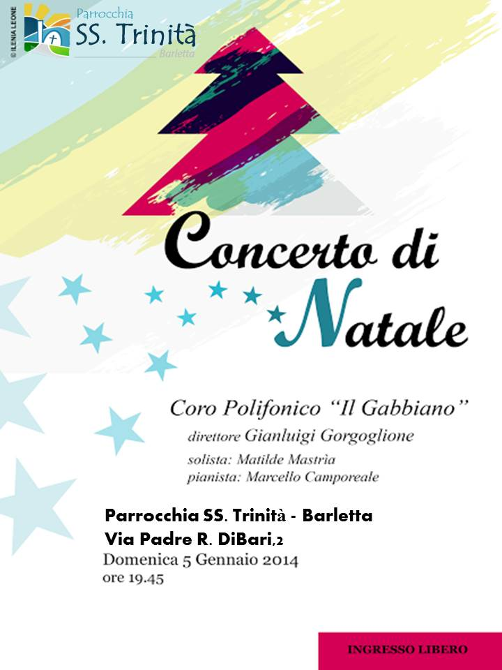 """Foto: """"Concerto di Natale 2013″ – Coro polifonico IL GABBIANO"""