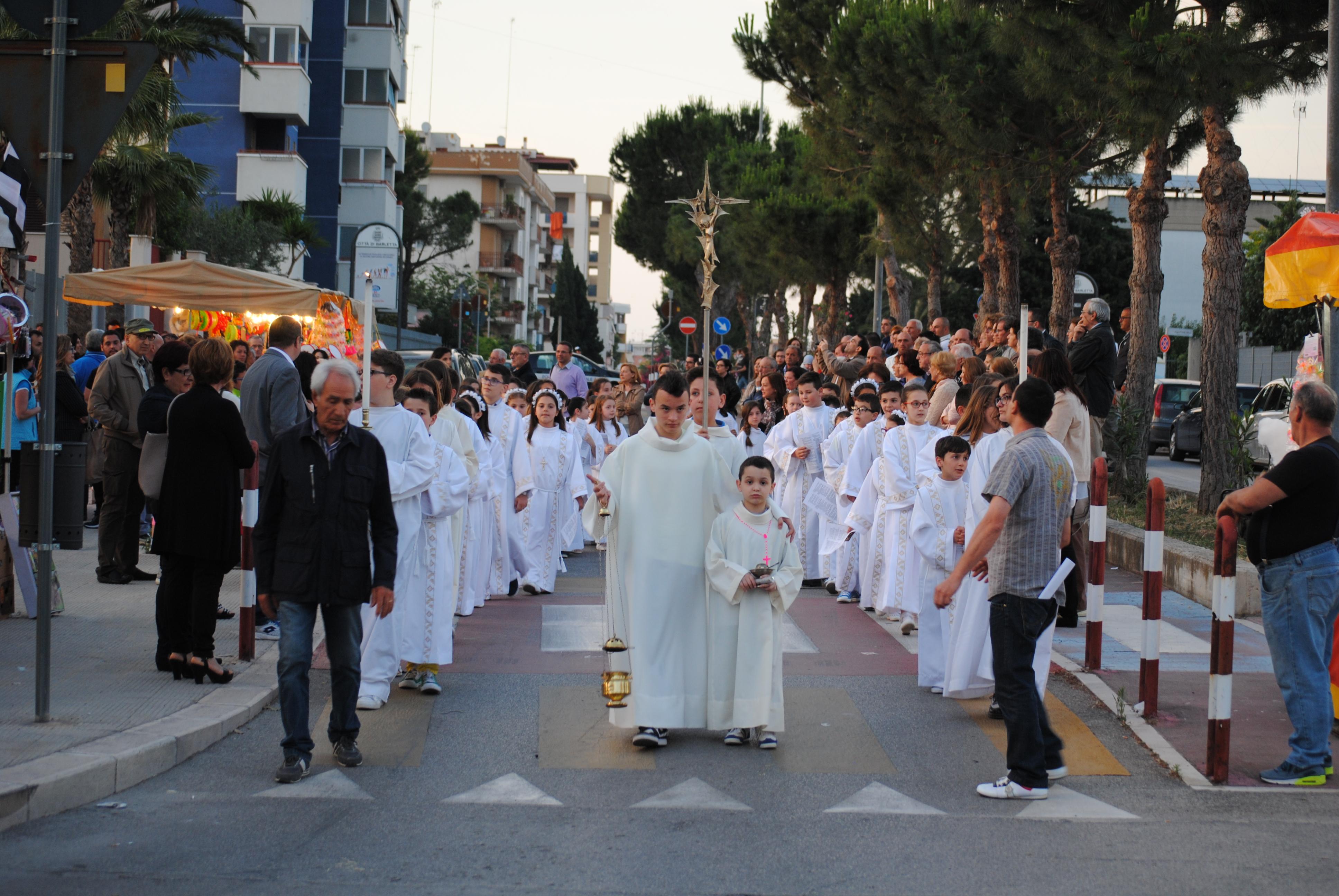 Processione festa SS. Trinità 31 maggio 2015