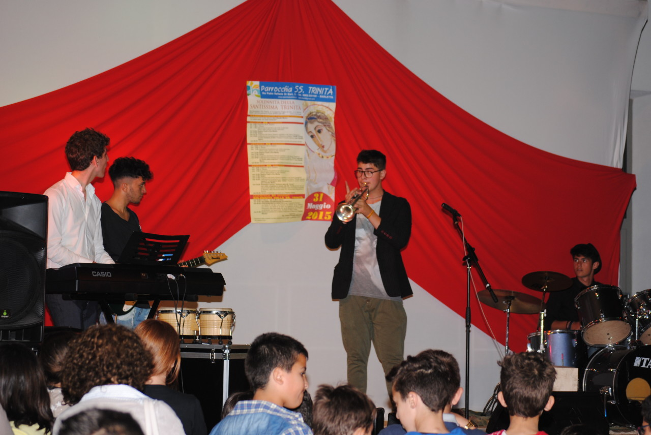 Spettacolo Festa SS. Trinità 2015