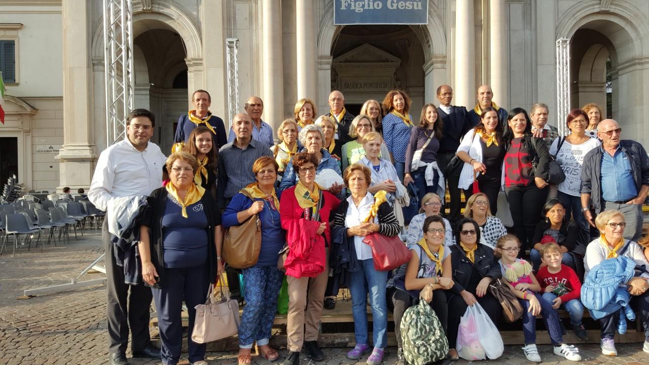 Pellegrinaggio Pompei 2-10-2016