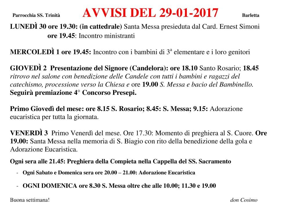 1. Avvisi 29-01-2017