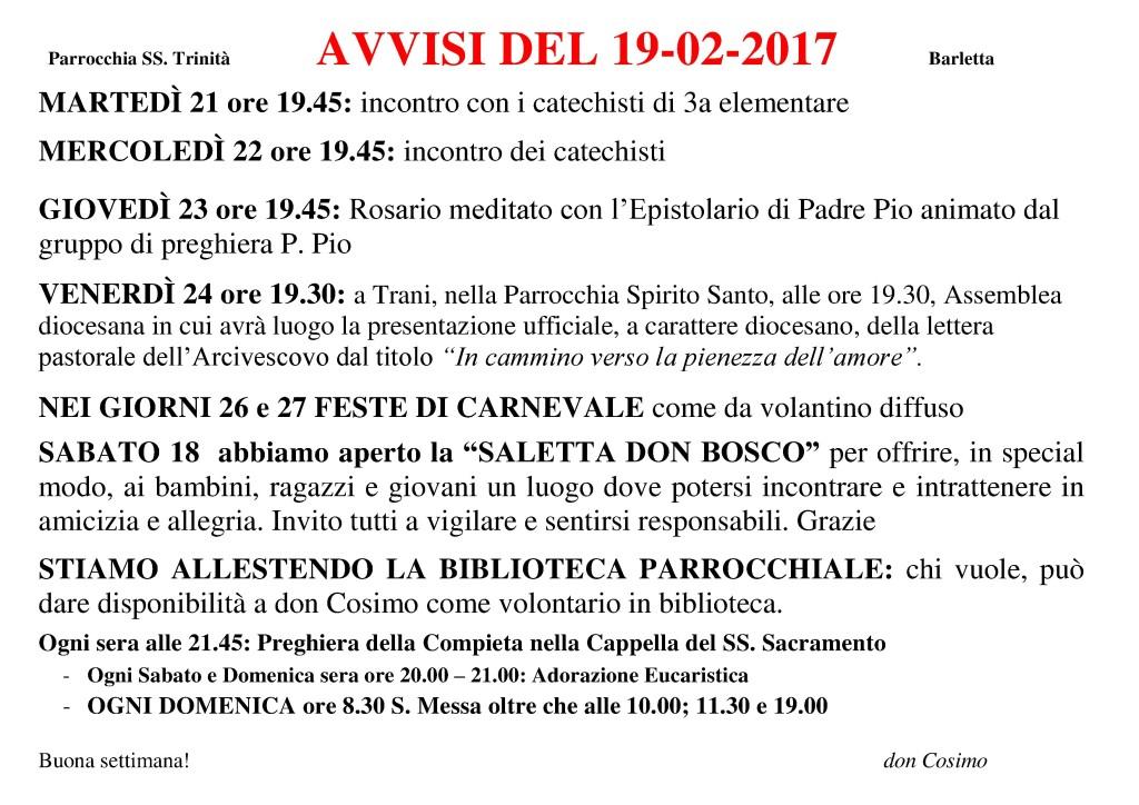 3. Avvisi 19-02-2017