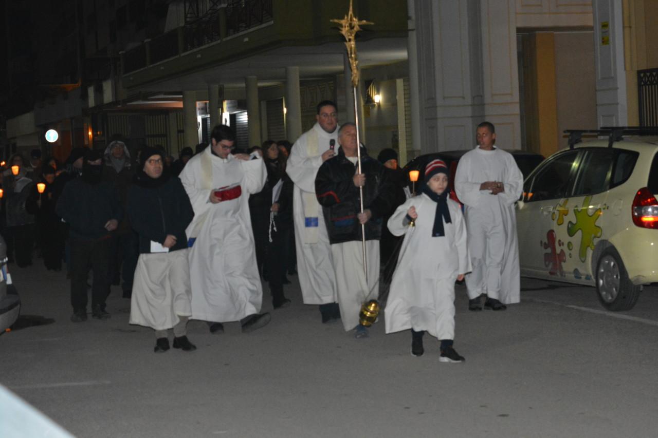 Fiaccolata Madonna di Lourdes 2018