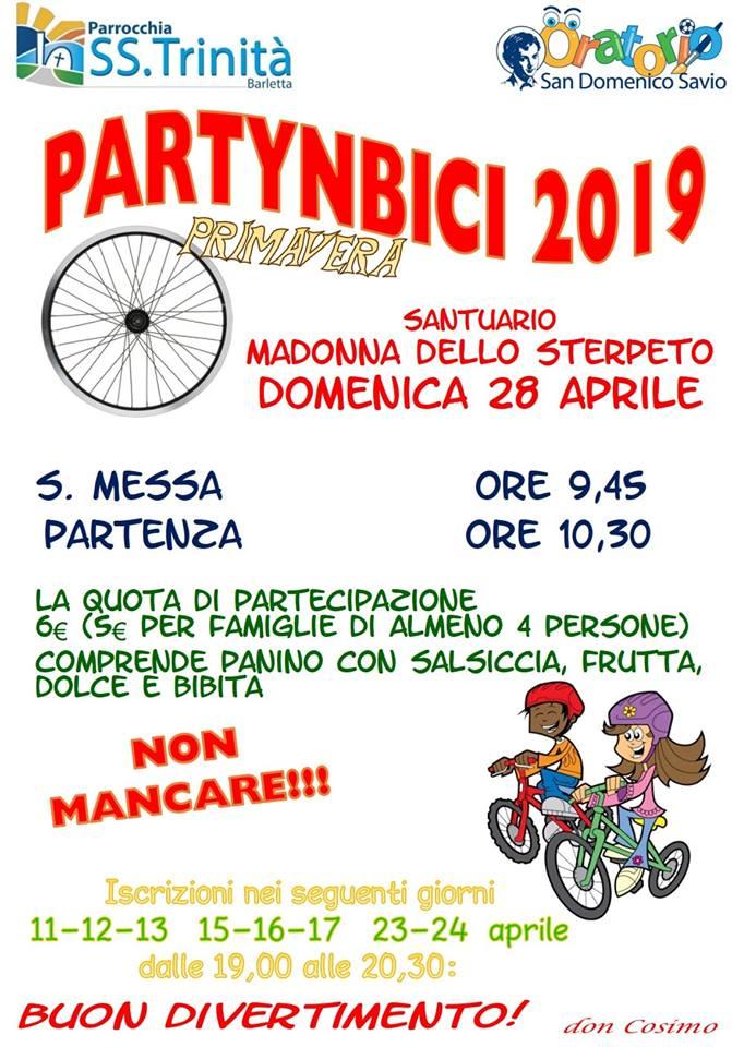 Partynbici 28 aprile 2019